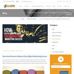 How User Reviews Influence Your Digital Marketing Success