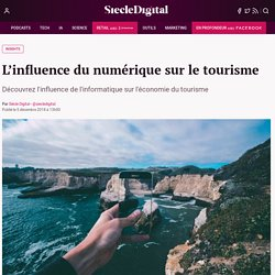 L'influence du numérique sur le tourisme