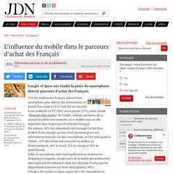 L'influence du mobile dans le parcours d'achat des Français