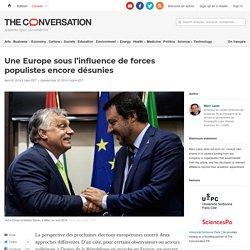 Une Europe sous l'influence deforces populistes encore désunies