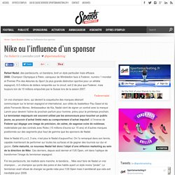 Nike ou l'influence d'un sponsor - Sportsmarketing.fr - L'actualité du marketing sportif et du sport business