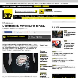 L'influence du ventre sur le cerveau