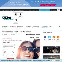 Influence4Brands cible les pros du tourisme