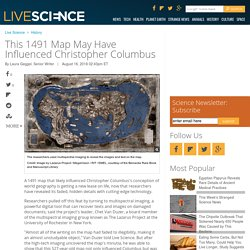 This 1491 Map May Have Influenced Christopher Columbus