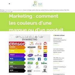 Marketing : comment les couleurs d'une marque ou d'un produit influencent les consommateurs - 707 Digital