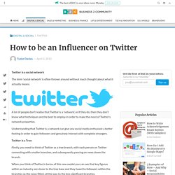 How to be an Influencer on Twitter