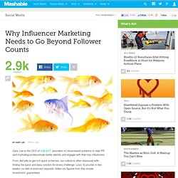 Why Influencer Marketing Needs to Go Beyond Follower Counts