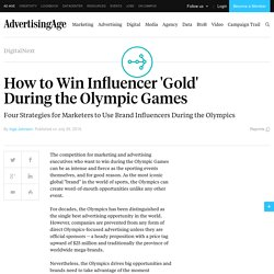 How to Win Influencer 'Gold' During the Olympic Games
