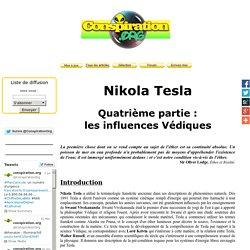 Nikola Tesla, les influences Védiques