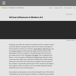 African Influences in Modern Art
