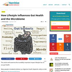 How Lifestyle Influences Our Gut Health: Digestion and the Microbiome