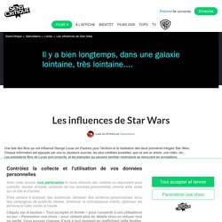 Les influences de Star Wars - Liste de 29 films