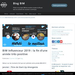BIM Influenceur 2019 : la fin d'une année très positive - Blog BIM