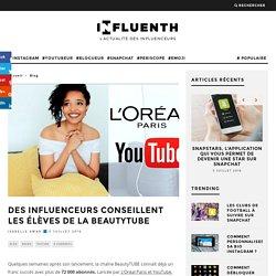 Des influenceurs conseillent les élèves de la BeautyTUBE - Influenth