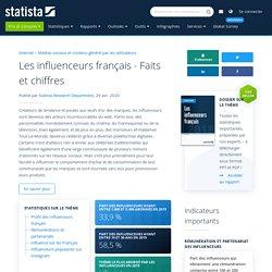 Les influenceurs français - Faits et chiffres