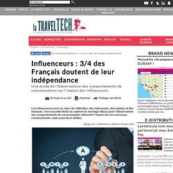 Influenceurs : 3/4 des Français doutent de leur indépendance