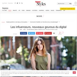 Les influenceurs sur Instagram et YouTube, nouveaux gourous du digital - L'Express Styles