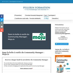Institut Pellerin - Formation Community Manager - Formation Community Manager