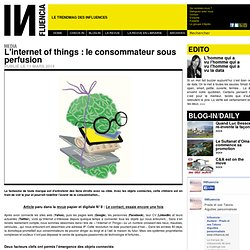 Media - L'internet of things : le consommateur sous perfusion