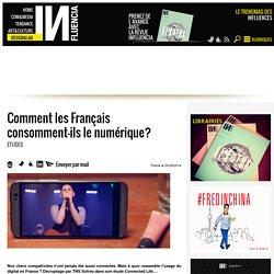 Comment les Français consomment-ils le numérique?