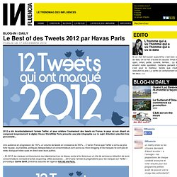 BLOG-IN / DAILY - Le Best of des Tweets 2012 par Havas Paris