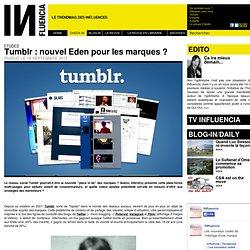 Etudes - Tumblr : nouvel Eden pour les marques ?