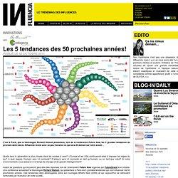 Innovations - Les 5 tendances des 50 prochaines années!