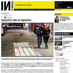 Innovations - Quand la ville se digitalise