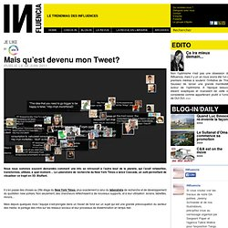 Cascade : Mais qu'est devenu mon Tweet?