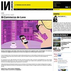 Tendances - M-Commerce de Luxe