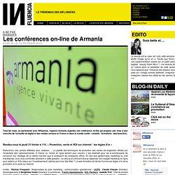 à ne pas manquer - Les conférences on-line de Armania
