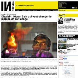 Marketing Progress - Displair : l'écran à air qui veut changer le marché de l'affichage
