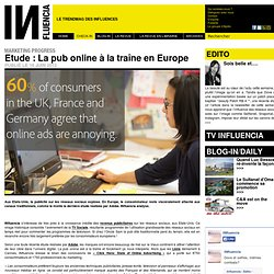 Marketing Progress - Etude : La pub online à la traîne en Europe