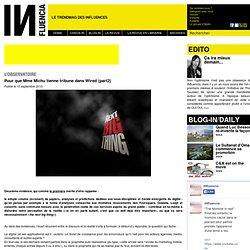 Incontournables - L'observatoire influencia - Pour que Mme Michu tienne tribune dans Wired (part2)