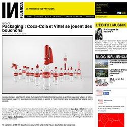 Packaging : Coca-Cola et Vittel se jouent des bouchons