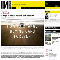 Tendances - Dodge lance la voiture participative