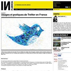 Etudes - Usages et pratiques de Twitter en France