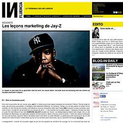 Ricochets - Les leçons marketing de Jay-Z