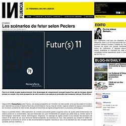 Etudes - Les scénarios du futur selon Peclers