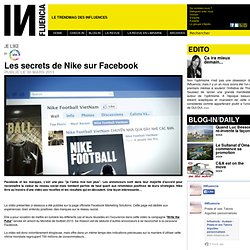 Je Like - Les secrets de Nike sur Facebook