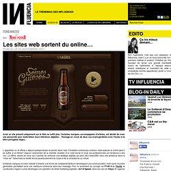 Tendances - Les sites web sortent du online…