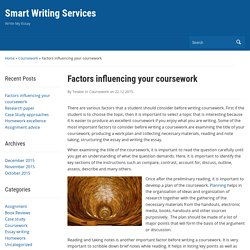 coursework - Smart Writing Services