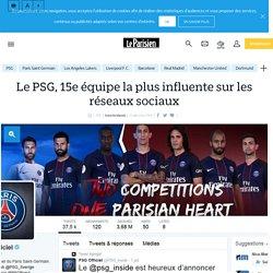 Le PSG, 15e équipe la plus influente sur les réseaux sociaux - Le Parisien