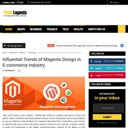 Top 5 Trend of Magento design in eCommerce Industry
