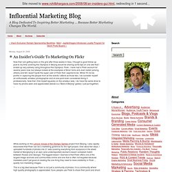 An Insider's Guide To Marketing