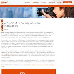 The Top 30 Most Socially Influential Photographers