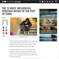 The 12 most influential spiritual books of the past 50 years
