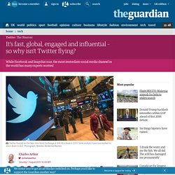 It's fast, global, engaged and influential – so why isn't Twitter flying?