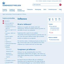 Influenza - Sundhedsstyrelsen