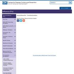 Seasonal Influenza (Flu) - Weekly US Map: Influenza Summary Update